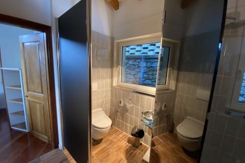 Lago Como Villa con Piscina Gravedona ed Uniti  - bagno