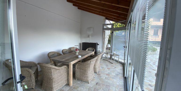 Lago Como Villa con Piscina Gravedona ed Uniti  - veranda