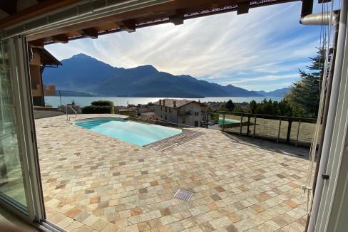 Lago Como Villa con Piscina Gravedona ed Uniti  - giardino
