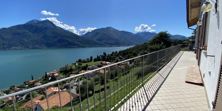 Villa Pianello del Lario - terrazzo vista lago
