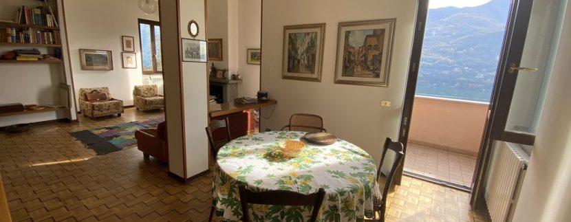 Carate Urio Appartamento Vista Lago Como - soggiorno