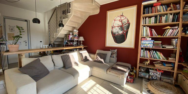 Lago Como Domaso Appartamento con Terrazzo - soggiorno