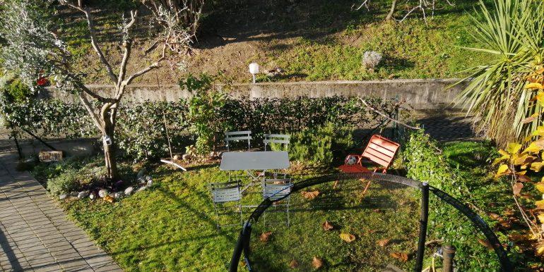 Lago Como Domaso Appartamento con Terrazzo  - giardino
