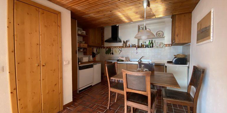 Appartamento Vista Lago Como Domaso - CUCINA