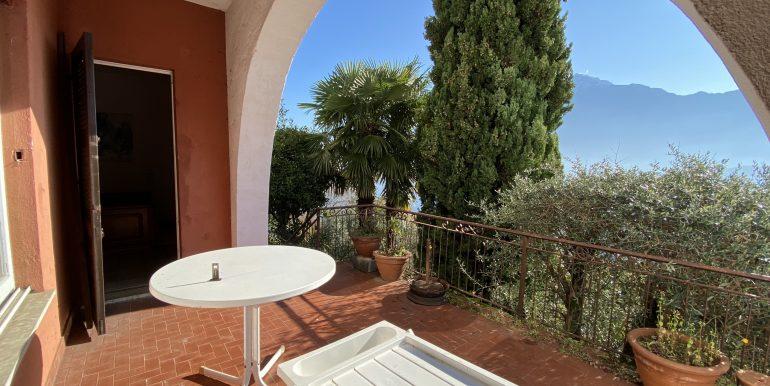 Appartamento Vista Lago Como Domaso - terrazzo