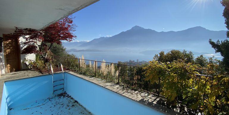 Appartamento Vista Lago Como Domaso - PISCINA