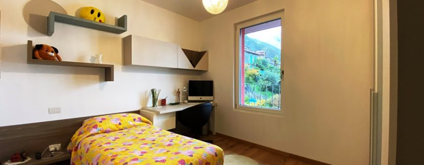 Lago di Lugano Valsolda Appartamento Fronte Lago - camera