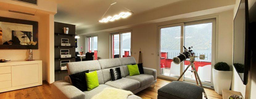 Lago di Lugano Valsolda Appartamento Fronte Lago - soggiorno