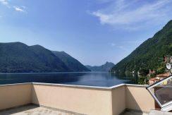 Lago di Lugano Valsolda Appartamento Fronte Lago