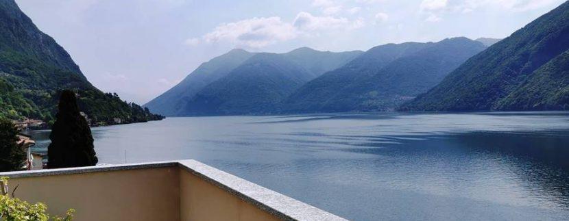 Lago di Lugano Valsolda Appartamento Fronte Lago - vista lago