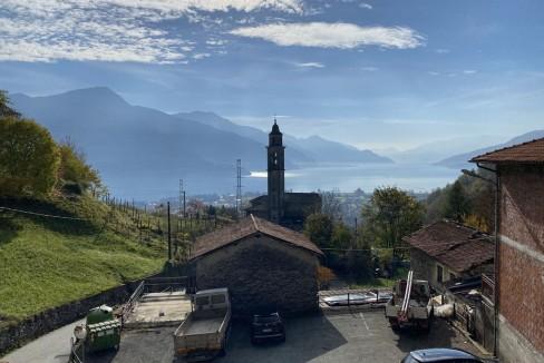 Lago Como Gravedona ed Uniti Casa con Vista Lago - vista