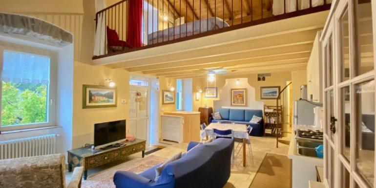 Moltrasio Casa Ristrutturata Vista Lago Como - soggiorno