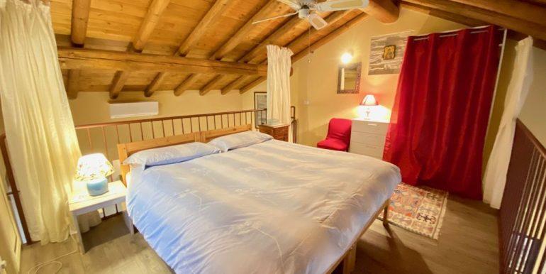 Moltrasio Casa Ristrutturata Vista Lago Como - soppalco