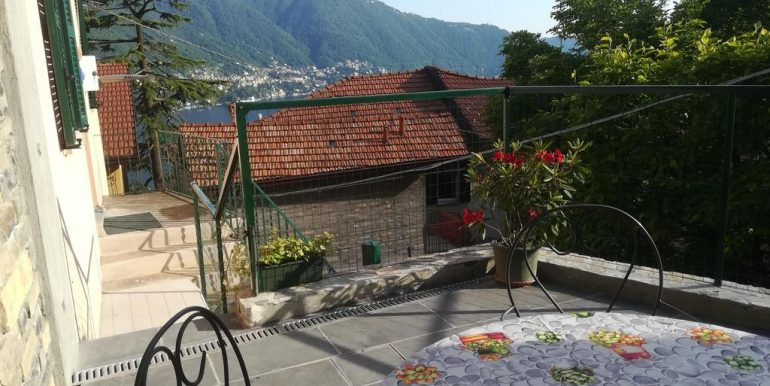 Moltrasio Casa Ristrutturata Vista Lago Como - terrazzo