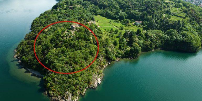 Fronte Lago Como Colico Esclusiva Proprietà - posizione
