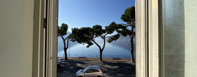 Lago Como Domaso Palazzo Lungolago - vista piano primo