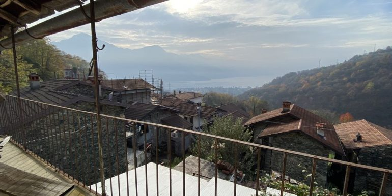 Rustico da Ristrutturare Gravedona ed Uniti Lago Como - vista lago