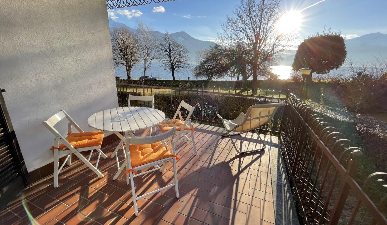 Appartamento Fronte Lago Gera Lario  - arredato