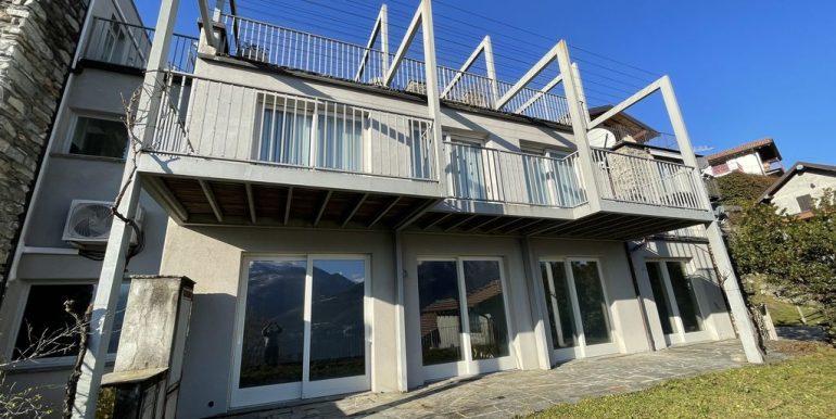 Appartamenti Pianello del Lario Vista Lago Como con piscina - esterno