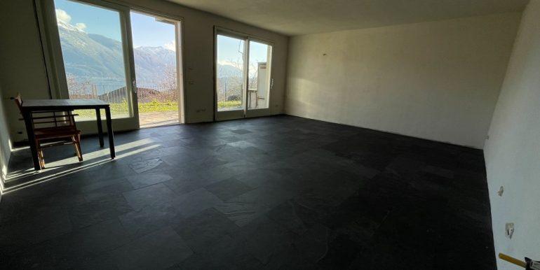 Appartamenti Pianello del Lario Vista Lago Como con piscina - soggiorno cucina