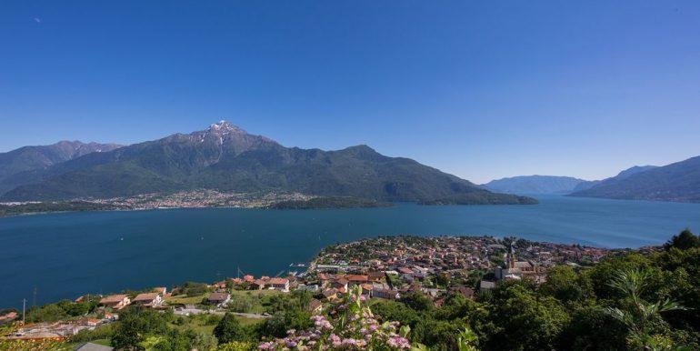 Appartamento Vista Lago Como Domaso - soleggiato