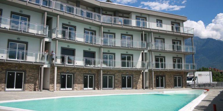 Appartamento Residence con Piscina Domaso  - centro