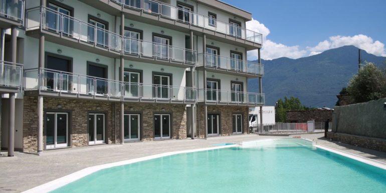 Appartamento Residence con Piscina Domaso - garage