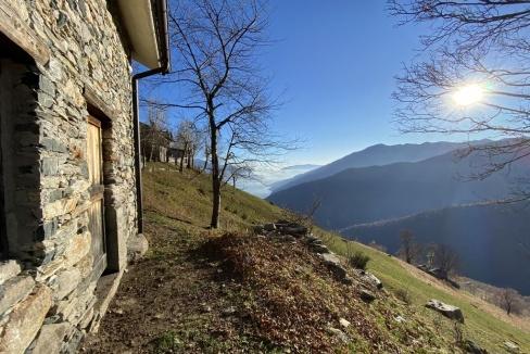 Rustico Vista Lago Como Gravedona ed Uniti Collinare - giardino