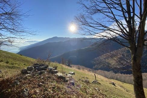 Rustico Vista Lago Como Gravedona ed Uniti Collinare - soleggiato