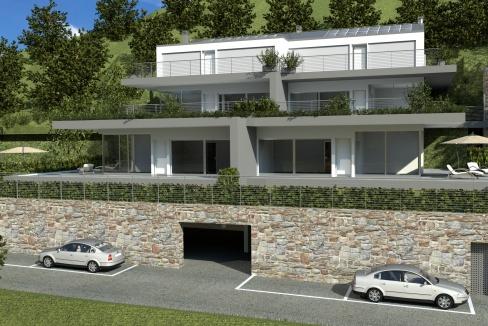 Lago Como Domaso Moderno Residence
