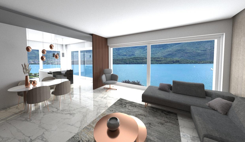 Lago Como Domaso Moderno Residence pochi passi dal lago