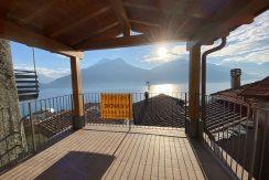 Appartamento Vista Lago Como Pianello Lario - terrazzo