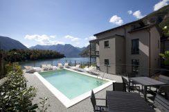 Tremezzina Bellissimo Appartamento con Piscina e Vista Lago - facciata