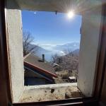 Lago Como Gera Lario Collinare Baita con Giardino - vista