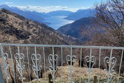 Baita Vista Lago Como Vercana con Giardino - vista lago