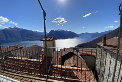 San Siro Bellissimo Rustico con Favolosa Vista Lago