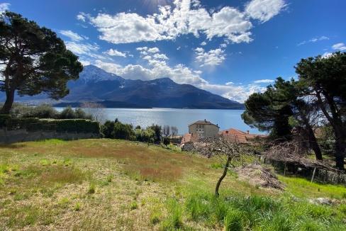 Lago Como Domaso Casa con Terreno