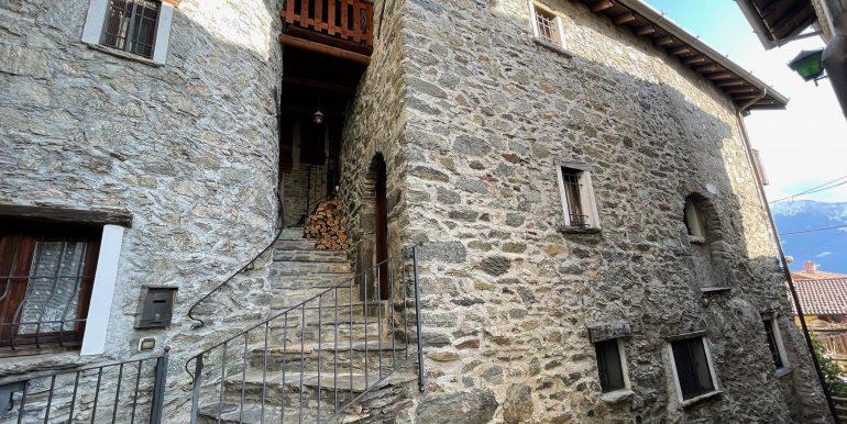 Rustico Ristrutturato Domaso Vista Lago Como -