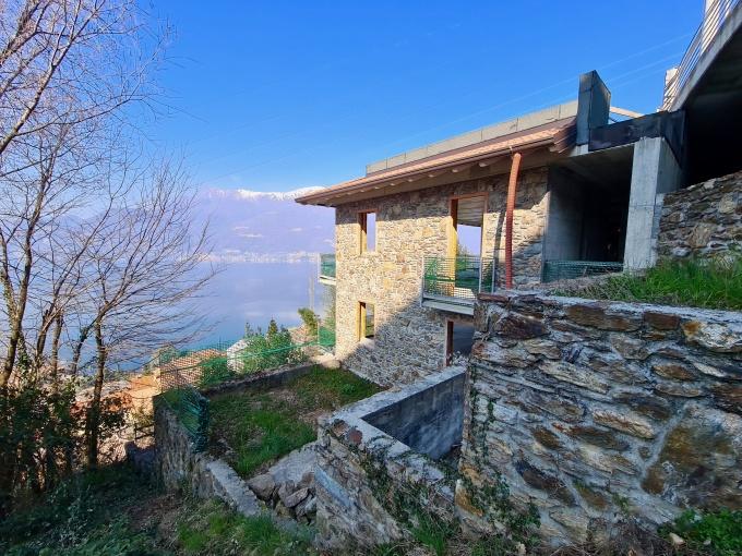 Villa Lago Como Bellano - vista lago