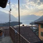 Tremezzina Casa di Paese con Balcone e Bellissima Vista Lago - vista