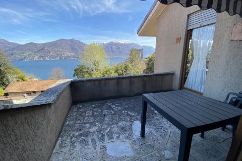 Menaggio Bellissimo Appartamento con Terrazzo e Vista Lago