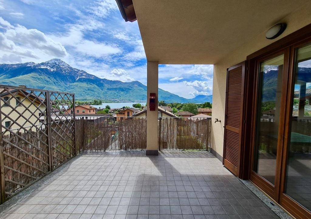 Appartamento Residence con Piscina Sorico - terrazzo