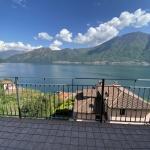 Sala Comacina Bellissimo Appartamento con Fantastica Vista Lago - vista
