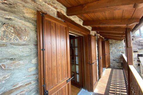 Lago Como Gravedona ed Uniti Rustico Ristrutturato - balcone