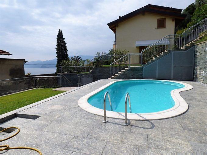 Lago Como San Siro Appartamenti con piscina, terrazza e vista lago - piscina