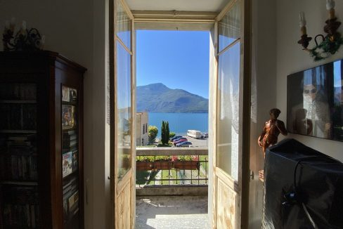 Lago Como Villa d'epoca con Giardino Domaso  - PIANO PRIMO