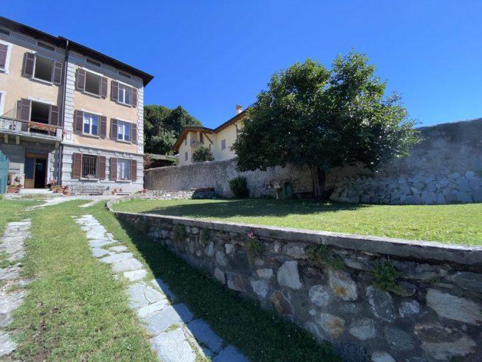 Lago Como Villa d'epoca con Giardino Domaso - esterno