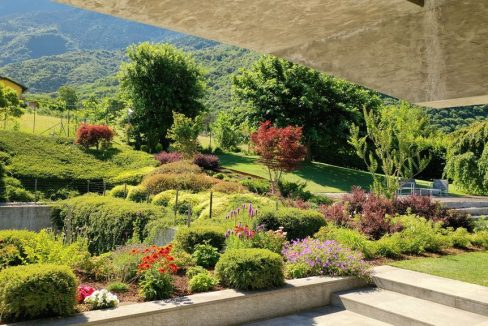 Lago Como Villa Con Piscina Colico