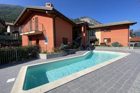 Lago Como Appartamento Residence con Piscina Musso - residence