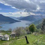 Casa Indipendente Vista Lago Como Sorico - vista lago